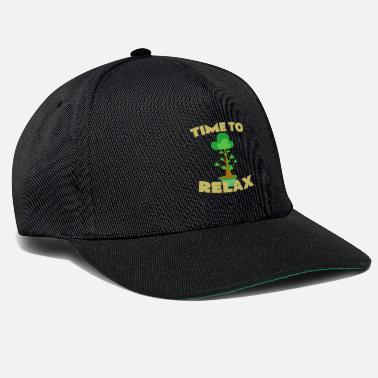 Bonsai Tiempo para relajarse | Bonsai Tree China Garden Gift - Gorra snapback