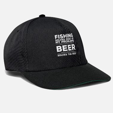 Visser Fishing Angling Design - Fishing lost Most Of My op - Snapback cap