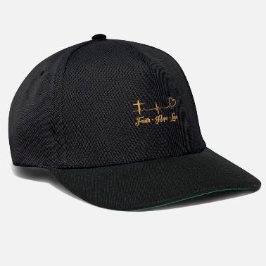 I-love-jesus Faith Love Hope Christian Gift Ideas - Snapback Cap