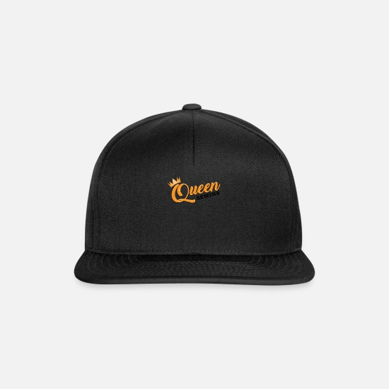 Birthday Caps & Hats - Sewing - Queen Tailor - Shirt - Snapback Cap black/black