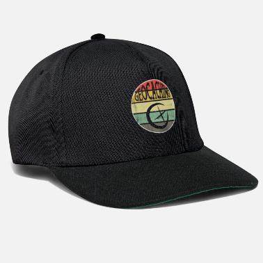 Retrò Geochcacher Geocaching Nature Hobby Fan Gift - Cappello snapback