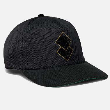 Marble Marble Squares - Snapback Cap