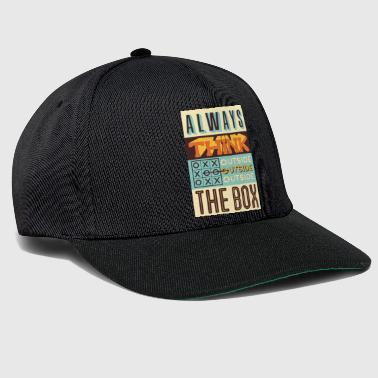 Outsider Outside the box - Snapback Cap