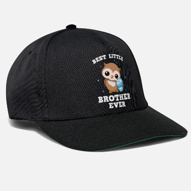 Best Best Little Brother Ever - Little owl brother - Snapback Cap