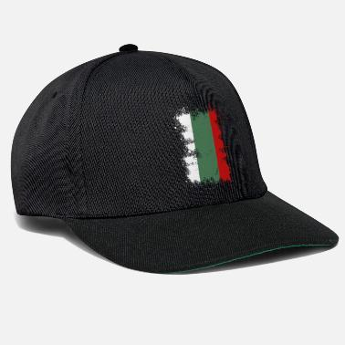 Bulgaria Bulgaria flag color splash gift idea - Snapback Cap