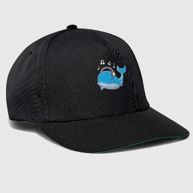 Save The Whales Whale sea animal water animal protection music fish mammal - Snapback Cap