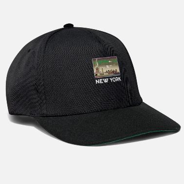 Stadt New York Stadt Skyline USA Roadtrip Trip US - Snapback Cap