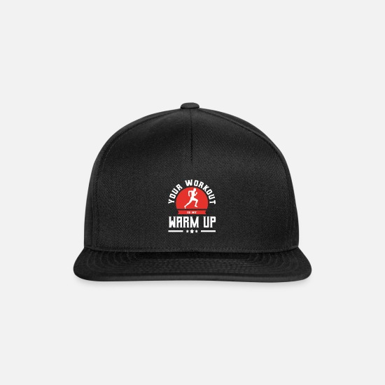 Gift Idea Caps & Hats - Saying for Joggers Gift for Joggers - Snapback Cap black/black