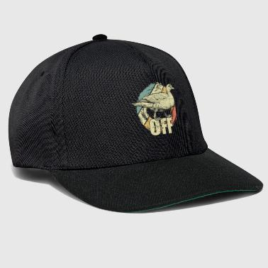 Duck off - Snapback Cap