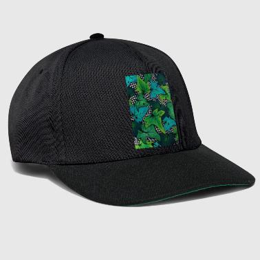 Leaves Paint - Snapback-caps