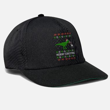 Ugly Christmas Lustiges T-Rex Ugly Christmas Weihnachtsgeschenk - Snapback Cap