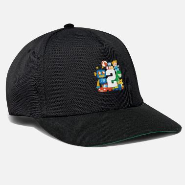 2nd 2nd birthday - Snapback Cap