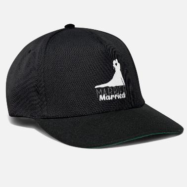 Marry Married, married, wedding - Snapback Cap