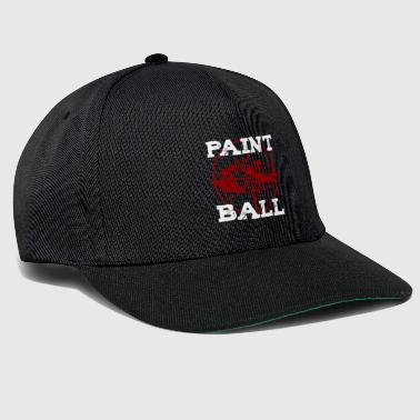 Speedball Paintball Player My Paintball Airsoft Speedball Gift - Snapback Cap