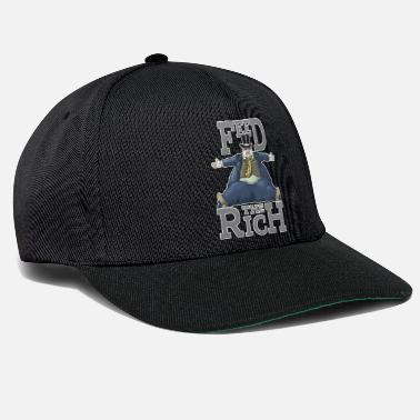 Feed Feed the Rich - Feed the Rich - Snapback Cap