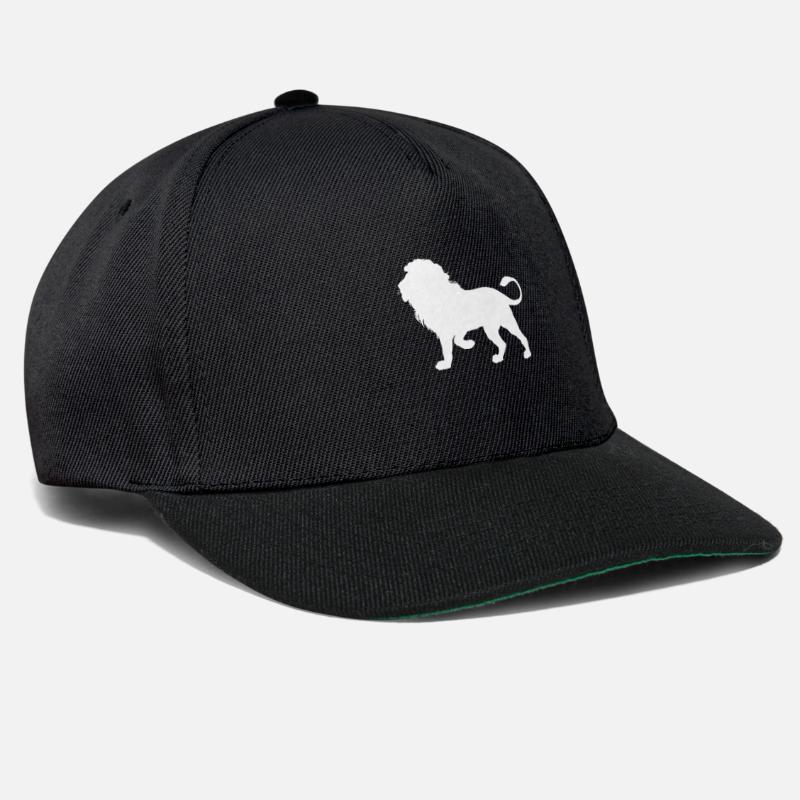 de2e7f3241a Gift Idea Caps   Hats - Lion King of the Beasts - Snapback Cap black