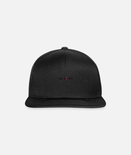 Boy Scouts Caps & Hats - be ready / be broad - Snapback Cap black/black