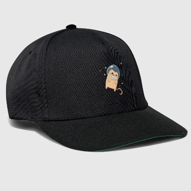 Cat - Outer Space - Kitten - Outer Space - Snapback Cap