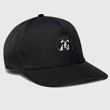 Camping is my Life Black Edition - Snapback Cap
