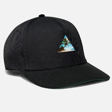 Exceptional Beach, triangle, style, exceptional - Snapback Cap