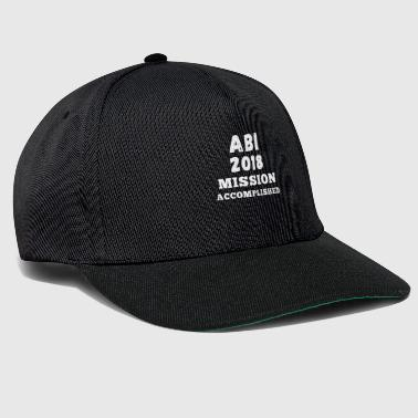 ABI 2018 mission accomplished weiss - Snapback Cap