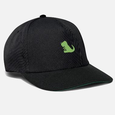 Dinosaur Dino is crying - Snapback Cap