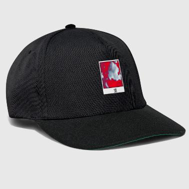 Culture Polaroid sky red white - Snapback Cap