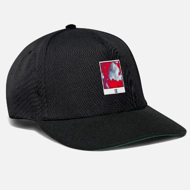 Pop Culture Polaroid sky red white - Snapback Cap