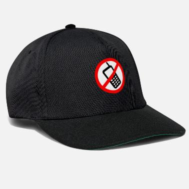 Phone Mobile phone ban Switch off mobile phone - Snapback Cap