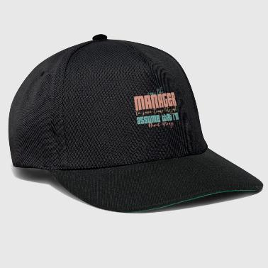 Manager - Snapback Cap