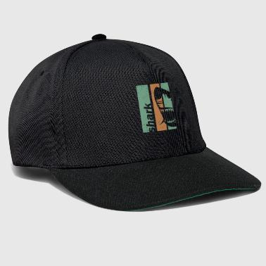 Shark head - Snapback Cap