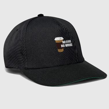 Coffee caffeine gift idea - Snapback Cap