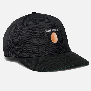 Serie Mundial Récord mundial huevo récord mundial huevo popular - Gorra  Snapback fedc1d6447f
