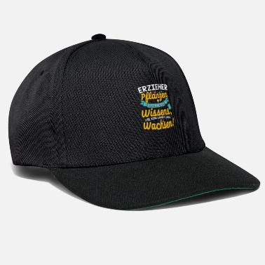 Educator Idea Gift idea for educators Educator T-Shirt - Snapback Cap
