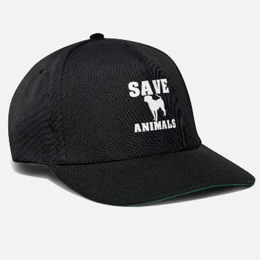 Rescue Save the animals animal rescue dogs - Snapback Cap
