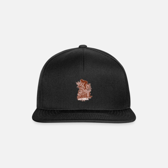 Love Caps & Hats - Departure is my trill - Snapback Cap black/black