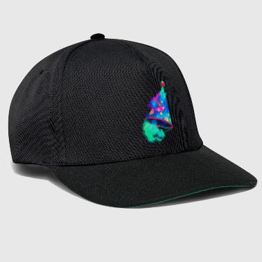 Birthday cape colorful - Snapback Cap