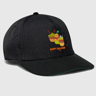 Zombie Halloween-horror cupcakes muffins - Snapback cap