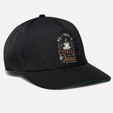 Coffee Coffee Lover All I Need Is Coffee Coffee Birthday - Snapback Cap