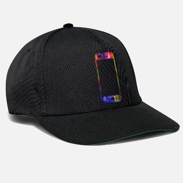 Mobile Phone Mobile phone with heart - Snapback Cap