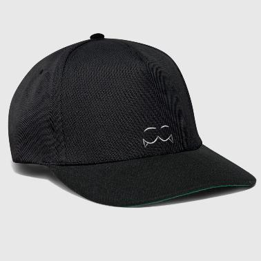 Eye vamp white - Snapback Cap