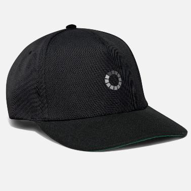 Video Buffer Charge symbol in gray - Snapback Cap