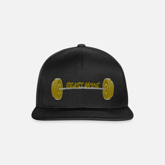 Mode Caps & Hats - Beast Mode - Snapback Cap black/black