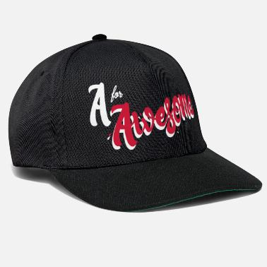 Awesome A for Awesome - Snapback Cap