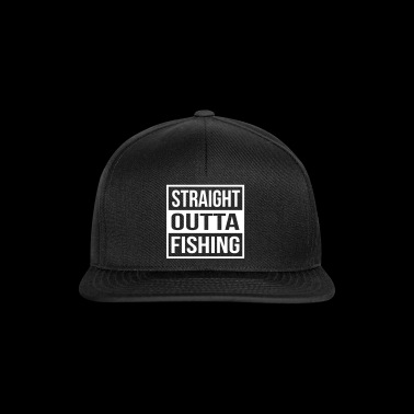 Straight Outta Fishing - Gorra Snapback