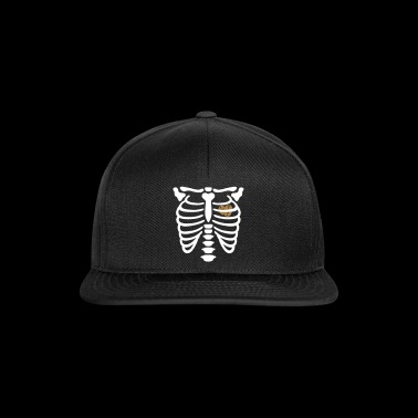 Funny Coffee Coffee Bone Skull Coffee - Gorra Snapback