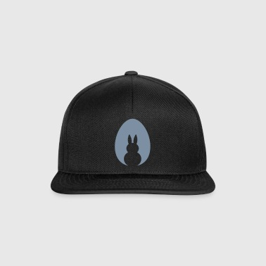 Bunny Egg White Space - Snapback Cap
