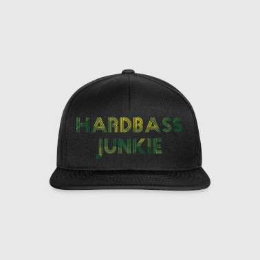 Hard Bass Junkie Hardstyle Basse Techno Electro Fix - Casquette snapback