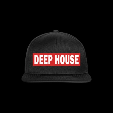 Deep House - Electro Dance Music Techno - Snapback Cap