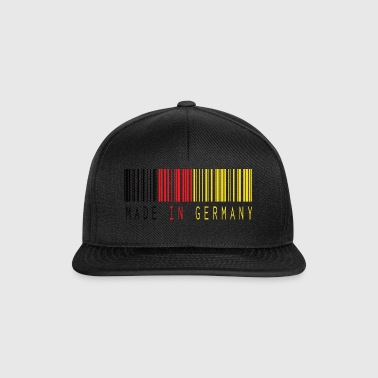 MADE IN GERMANY BARCODE - Snapback Cap